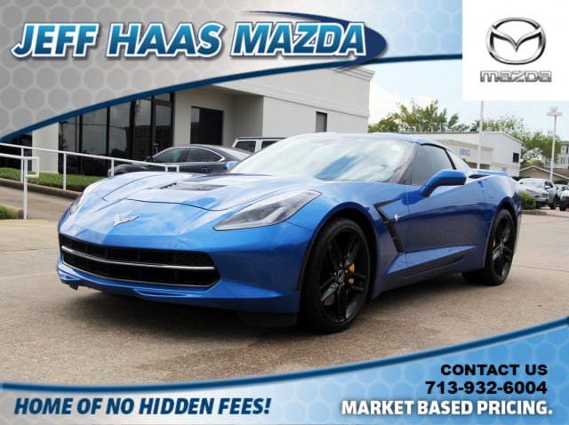 Pre-Owned 2014 Chevrolet Corvette Stingray 2dr Z51 Cpe w/2LT