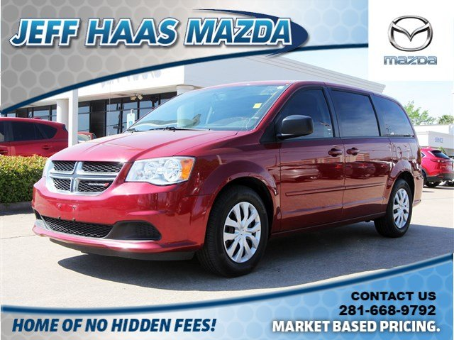 Pre-Owned 2016 Dodge Grand Caravan 4dr Wgn SE
