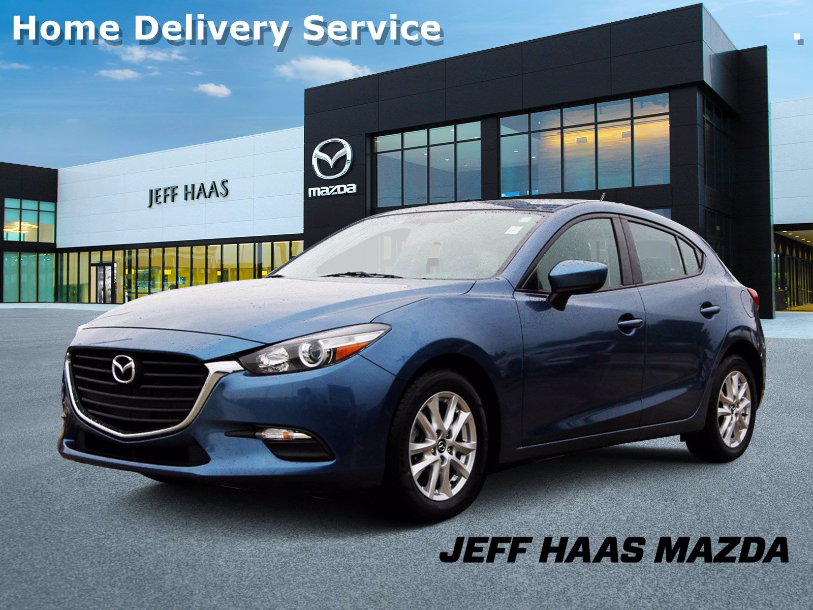 Pre-Owned 2017 Mazda3 5-Door Sport Auto