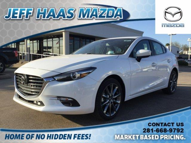 New 2018 Mazda Mazda3 4-Door Grand Touring Auto 4dr Car in Houston