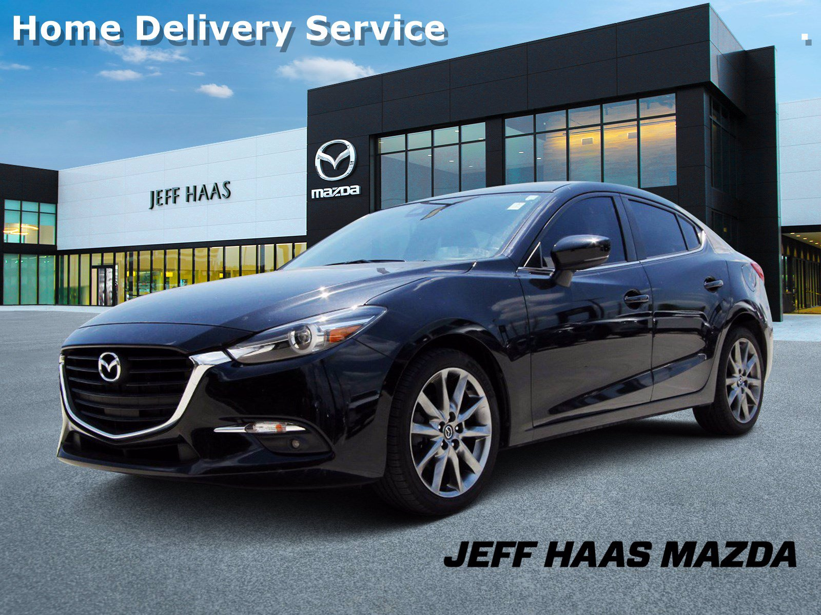 Certified Pre-Owned 2018 Mazda3 4-Door Grand Touring Auto