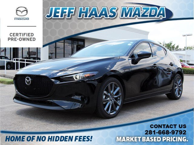 Certified Pre-Owned 2019 Mazda3 Hatchback FWD Auto