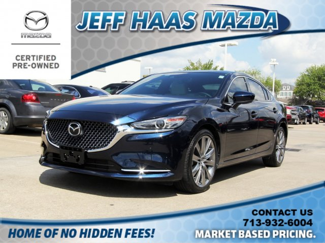 Certified Pre-Owned 2018 Mazda6 Signature Auto