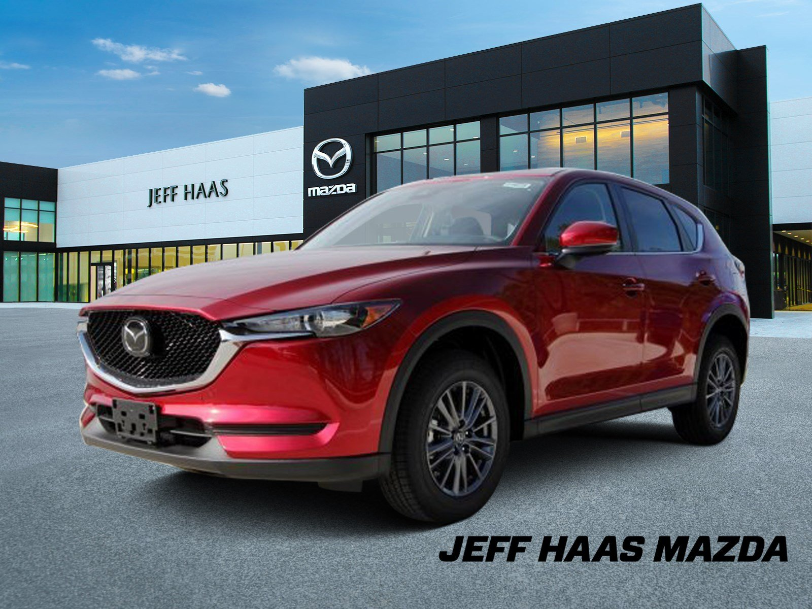 New 2020 Mazda CX-5 Touring FWD