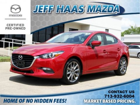 Certified Pre-Owned 2018 Mazda3 4-Door Touring Auto