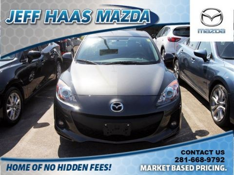 Pre-Owned 2013 Mazda3 4dr Sdn Auto i Touring
