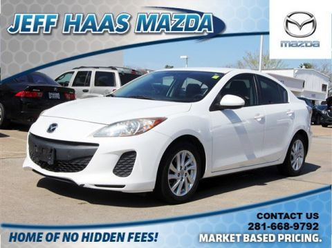Pre-Owned 2012 Mazda3 4dr Sdn Auto i Touring *Ltd Avail*