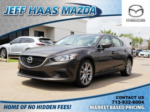 Pre-Owned 2016 Mazda6 4dr Sdn Auto i Touring