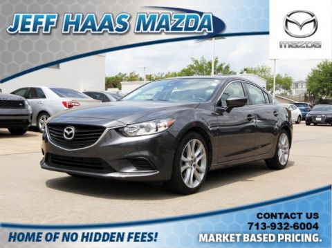 Pre-Owned 2017 Mazda6 Touring Auto