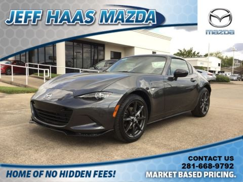 New 2018 Mazda MX-5 Miata RF Club Manual