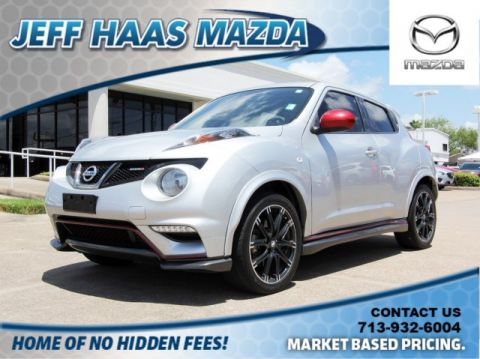 Pre-Owned 2013 Nissan JUKE 5dr Wgn Manual NISMO FWD